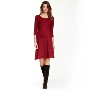 BB Dakota Evie 3/4 Sleeve Sweater Dress Size M